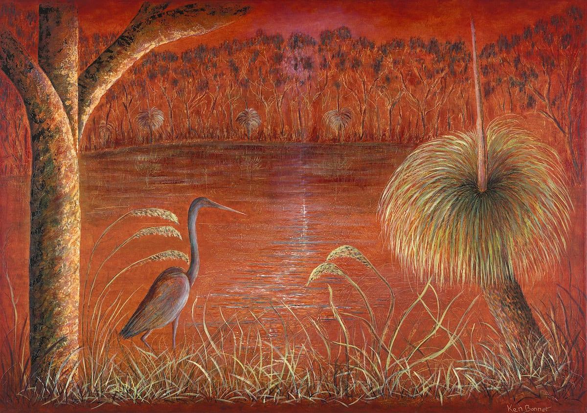 Dawn Tranquility | Ken Bonner Oil Paintings