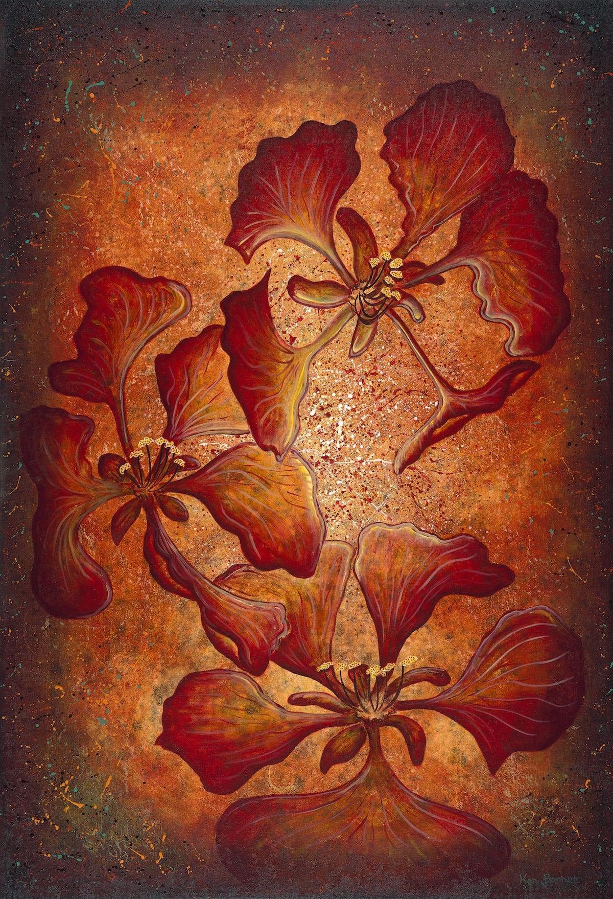 Summer Passion | Ken Bonner Oil Paintings