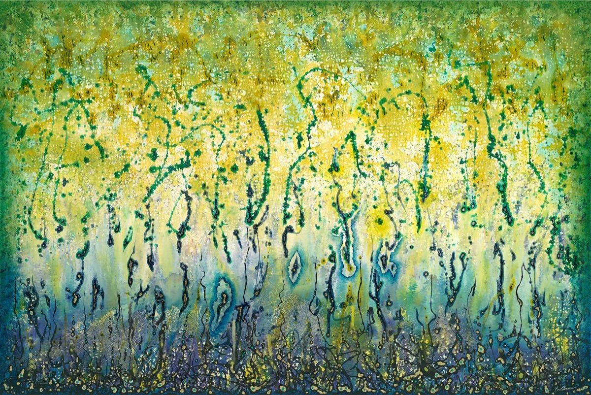 Earth Network - Encounter | Ken Bonner Original Oil Paintings | Santa Fe New Mexico