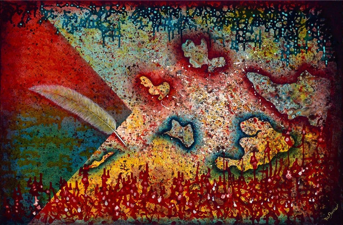 Fragments of Hope | Ken Bonner Original Oil Paintings | Santa Fe New Mexico