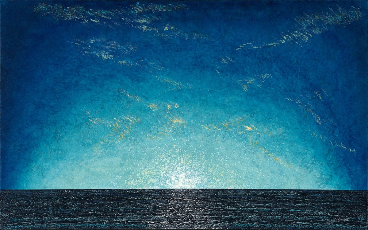 Here Comes the Sun | Ken Bonner Original Oil Paintings | Santa Fe New Mexico