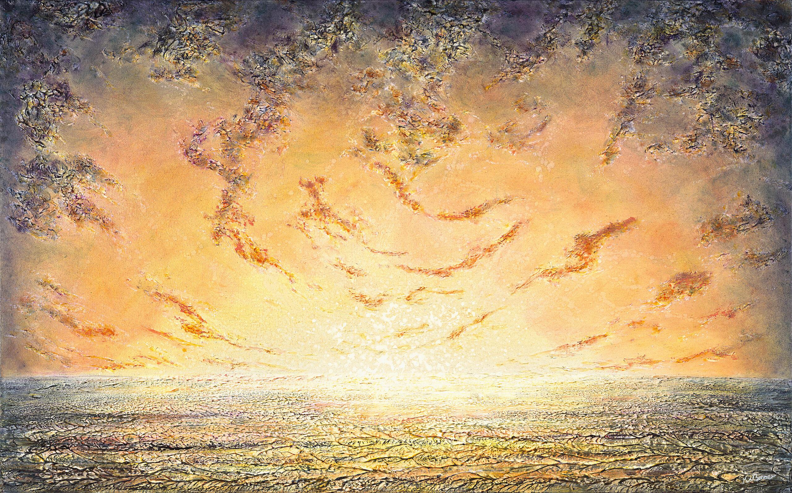 Love Love Me Do | Seascapes | Ken Bonner Original Oil Paintings | Santa Fe New Mexico