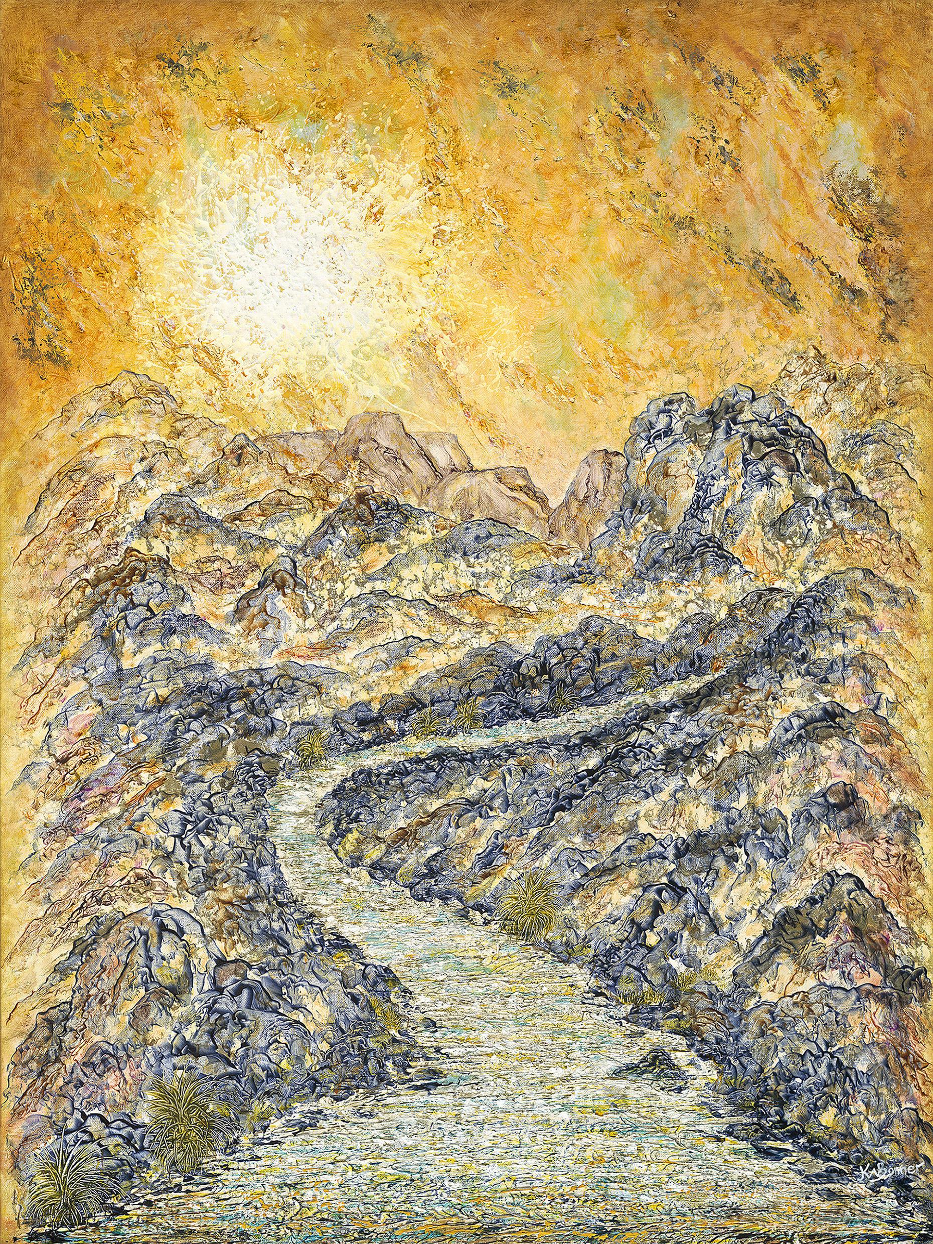 After the Rain | Landscape | Ken Bonner Original Oil Paintings | Santa Fe New Mexico