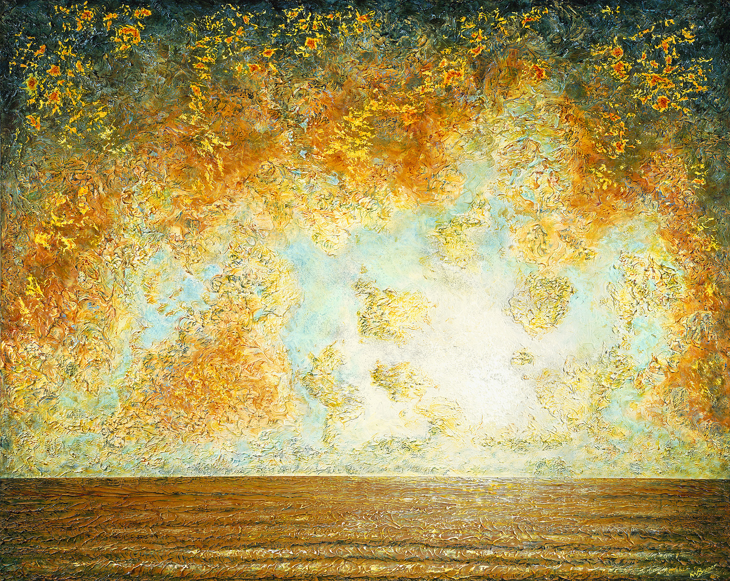 Nessun Dorma | Seascapes | Ken Bonner Original Oil Paintings | Santa Fe New Mexico